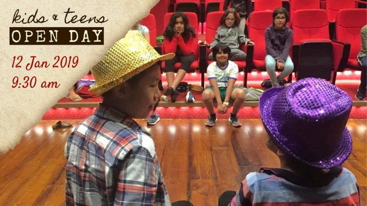 Open Day: Kids & Teens @ The Courtyard Playhouse