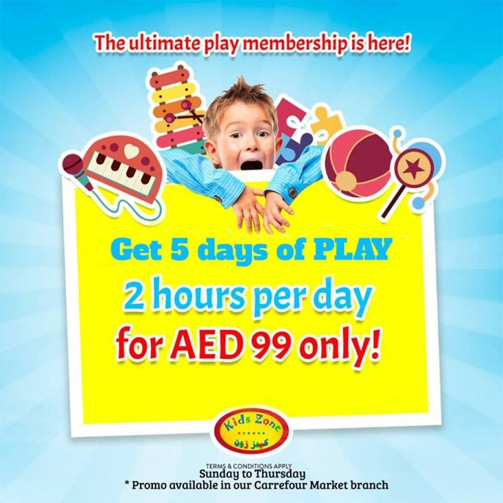 Membership - Kids Zone Carrefour Market- DIP