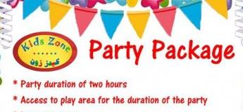 Birthday Party Promo at Kids Zone