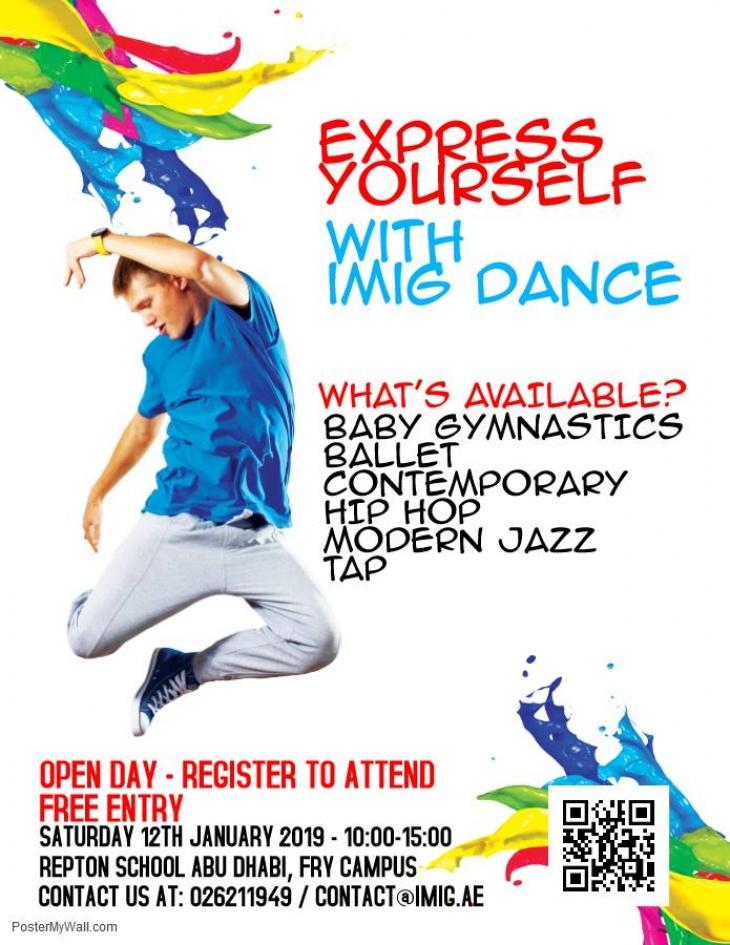 IMIG - Free Dance Classes