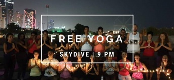 Free Evening Outdoor Yoga at Skydive Dubai