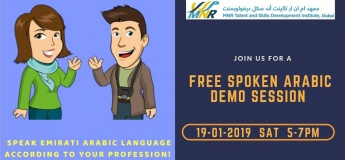 Free Spoken Arabic Demo Session