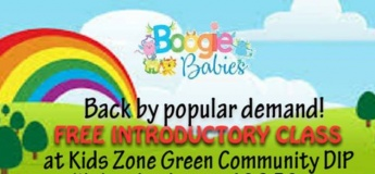 Free Trial Class - Boogie Babies