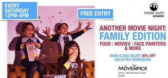 Family Movies at Movenpick - Every Saturday