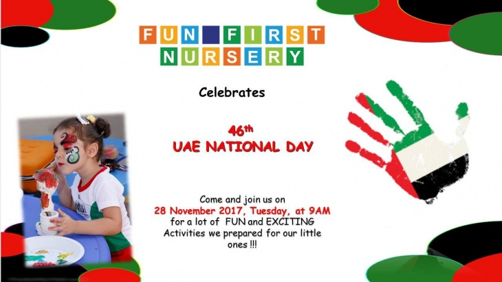 Celebrate UAE National Day at Fun First Nursery