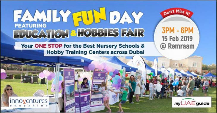 Education & Hobbies Fair at Remraam