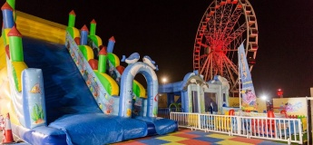 Jump, Slide and Bounce at Pirates of the Bay Fun Park!