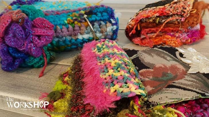 Texture Journeys - A Fiber-art Journals Collection