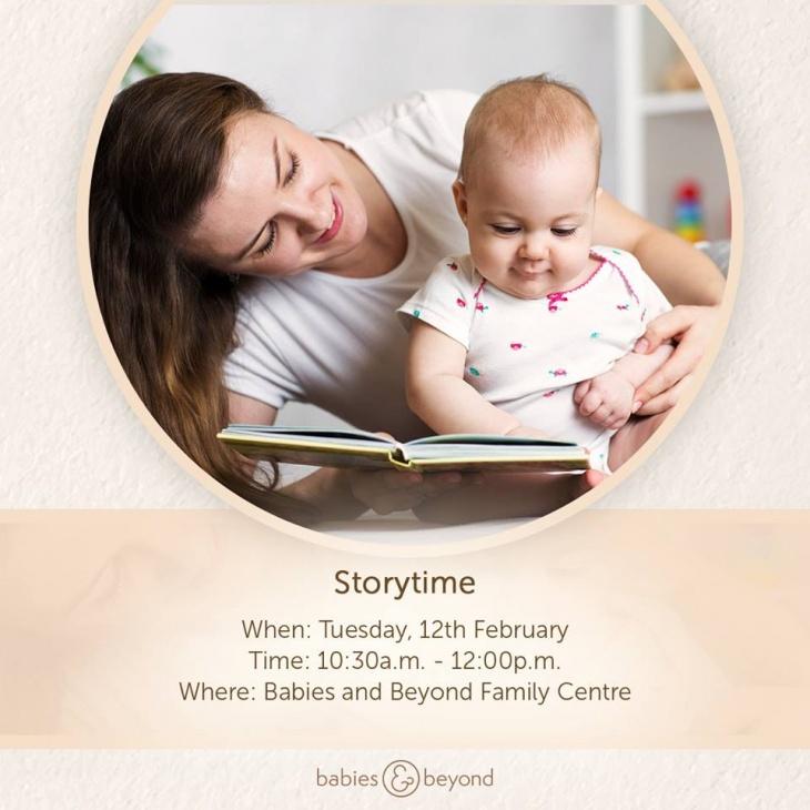 Storytime at Babies & Beyond