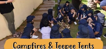 Campfires & Teepee Tents: Urban Forest School Taster Session