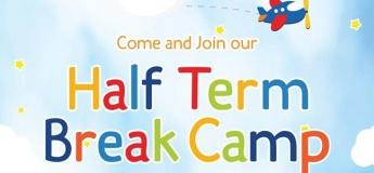 HALF TERM BREAK CAMP @ Playdates