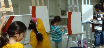 Art camps/workshops at KidzArt