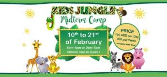 Kids Jungle Midterm camp 2019