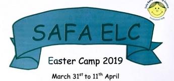 Safa ELC Easter Camp 2019