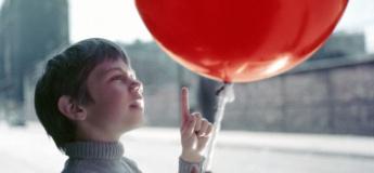 The Red Balloon & White Mane