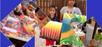 Theraupatic art for cognitive development and concentration for kids